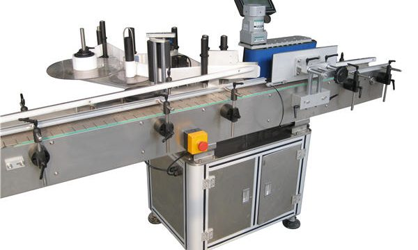 Automatische Aufkleber Rundflaschenetikettiermaschine Hersteller