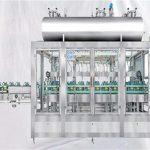 Wiegende Drehfüllmaschine für Schmieröl