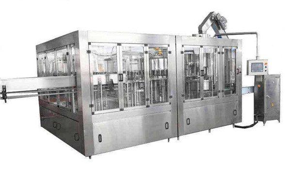 8000BPH Automatische Kokosöl-Füllmaschinenlinie