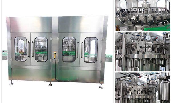 Automatische Bier-Wodka-Weinglas-Flaschen-Füllmaschine