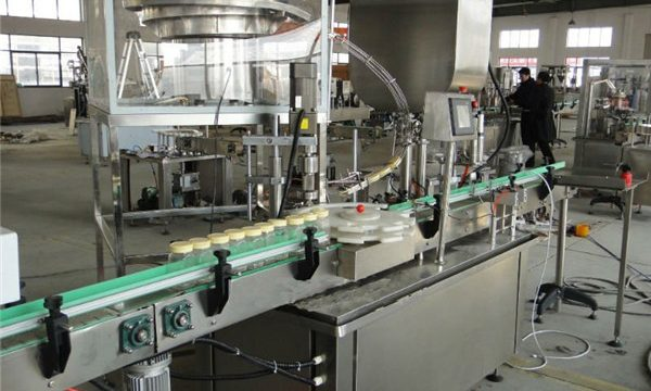 Automatische Glasdose Honey Filling Capping Machine