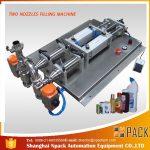 Halbautomatische Abfüllmaschine für korrosive Flüssigkeiten
