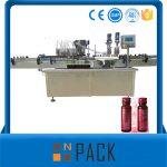Halbautomatische Vakuum-Flüssigkeits-Füllmaschine Niedriger Preis