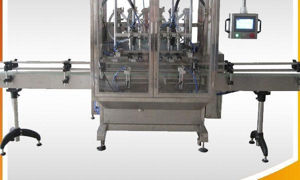 Selbstüberlauf-Schwerkraft-Flaschen-flüssige Füllmaschine