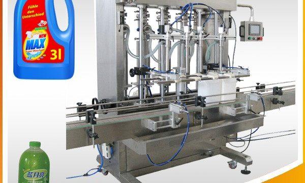 Doppelkopf-Vollautomatische kolbenartige flüssige Füllmaschine