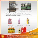 Automatische Speiseöl-Füllmaschine mit 2, 4, 6, 8, 10, 12 Köpfen