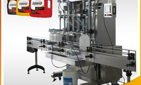 Automatische flüssige Füllmaschine des Reinigungsmittel-500ml-2L / waschende flüssige Füllmaschine