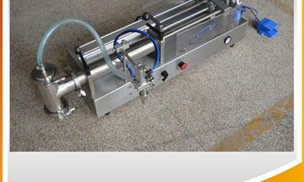 Halbautomatische Kolbenfüllmaschine Ideale Ölfüllmaschine