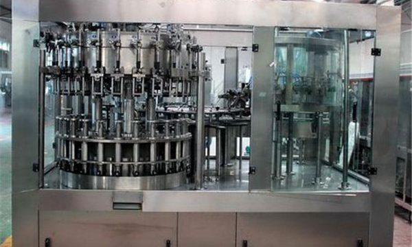 Automatische flüssige Edelstahl-Füllmaschine für Öl / gereinigtes Wasser