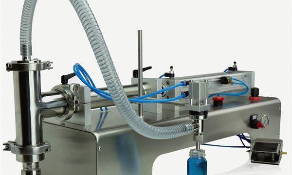 Pneumatische Doppelkopf-Schmieröl-Füllmaschine