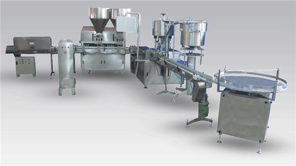 Automatische Cremefüllmaschine