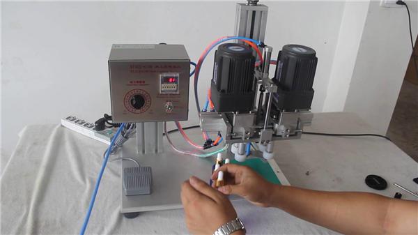 Vollautomatische pneumatische Verschließmaschine Hersteller