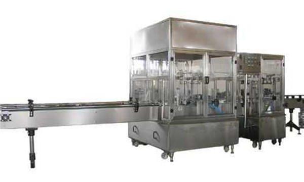 Vollautomatische Linie für Flüssigseifenfüllmaschinen