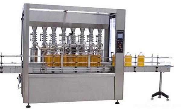 Hochpräzise automatische Schmier- / Speiseöl-Füllmaschine 2000ml-5000ml
