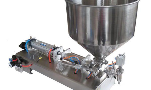 Halbautomatische Kolbenglas-Honig-Füllmaschine