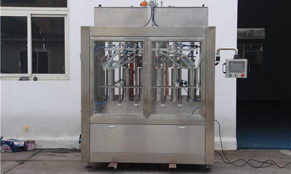 Automatische Marmeladenflasche Füllmaschine