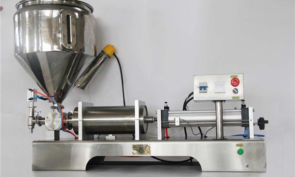 Hochgenaue halbautomatische Mischfruchtmarmeladen-Füllmaschine mit CER GMP