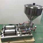 Weit verbreitete Doppelkopf-Erdbeermarmeladen-Füllmaschine
