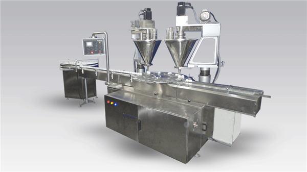 6-Kopf-Kaffeevollautomat zum Auffüllen von Maschinenpulver