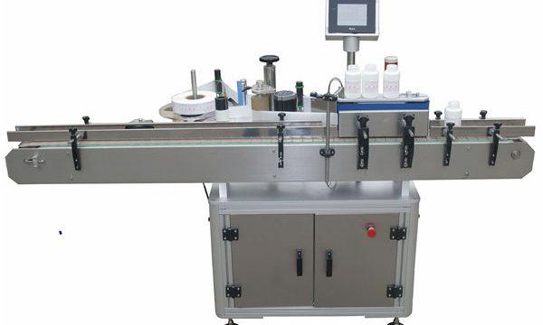 Automatische Doppelseiten-Etikettiermaschine für Haustier-Plastikglasflaschen