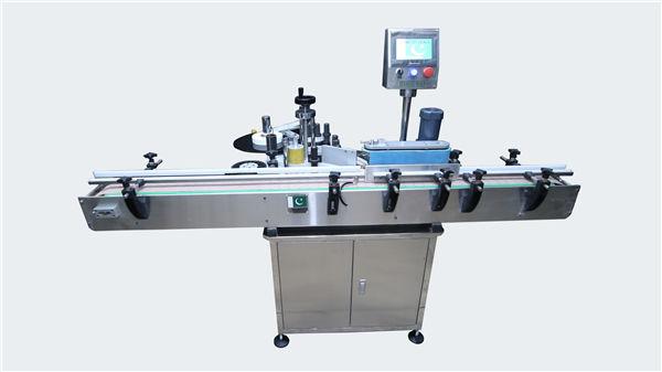 Automatische Etikettiermaschine für runde und quadratische Flaschen