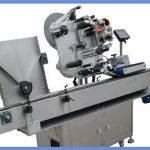 Automatische Flaschenaufkleber-Etikettiermaschine für rundes und quadratisches