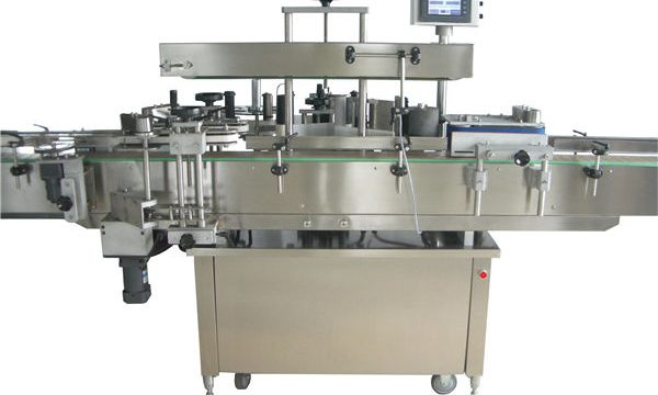 Vollautomatische Etikettiermaschine für runde Flaschen