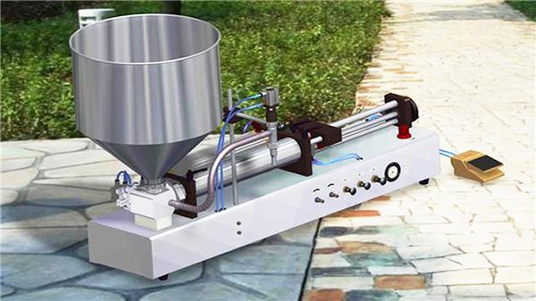 Halbautomatische Reinigungsflüssigkeits-Füllmaschine