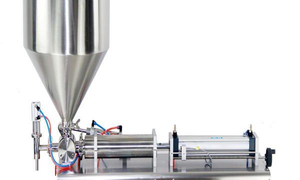 Halbautomatische Kolbenglas-Cremefüllmaschine