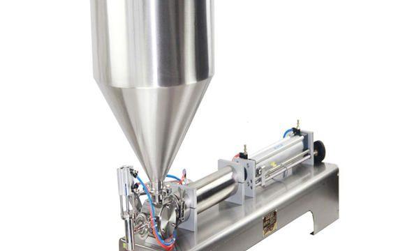 50-500ml Paste und flüssige Füllmaschine für kosmetische Cremeshampoo-Zahnpasta
