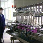 Automatische Drehflaschen-flüssige Füllmaschine mit dem Mit einer Kappe bedecken