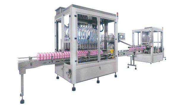 Automatische Reinigungsmittelfüllmaschine aus Edelstahl