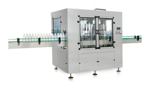 Automatische Flüssigseifenfüllmaschine mit linearem Kolben und acht Köpfen