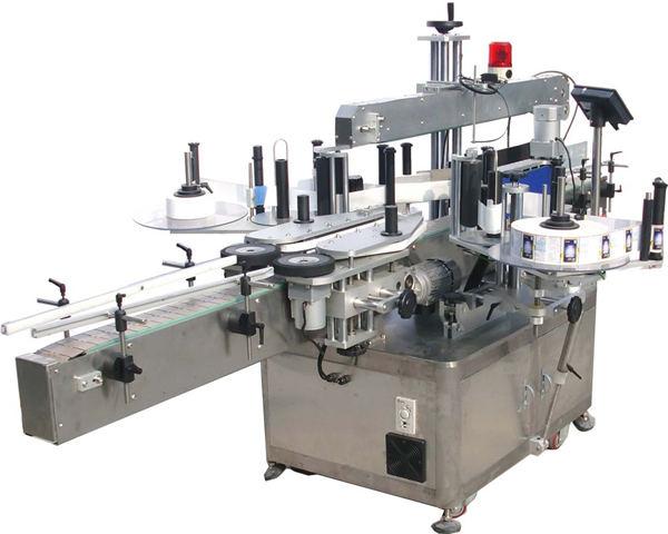 Automatische Etikettiermaschine für quadratische flache Flasche