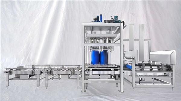 Anpassbare automatische Füllmaschine für große Trommeln der ESDF-Serie 100-1000L