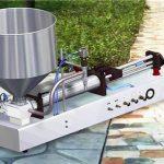 Halbautomatische vertikale Zahnpasta-Füllmaschine
