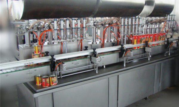 Doppelkopf vollautomatische Chili Paste Füllmaschine