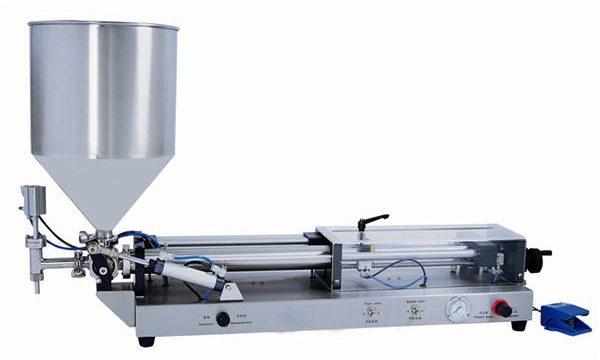Halbautomatische Pastenfüllmaschine für 3ml-5l