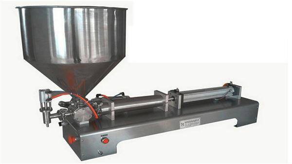 Einzelkopf-halbautomatische vertikale Pastenfüllmaschine