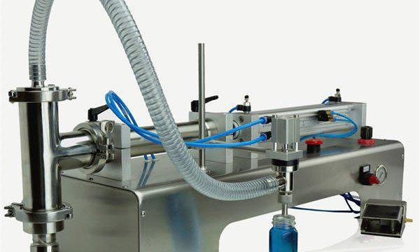 Hochwertige halbautomatische Kolbenfüllmaschine Neues Design