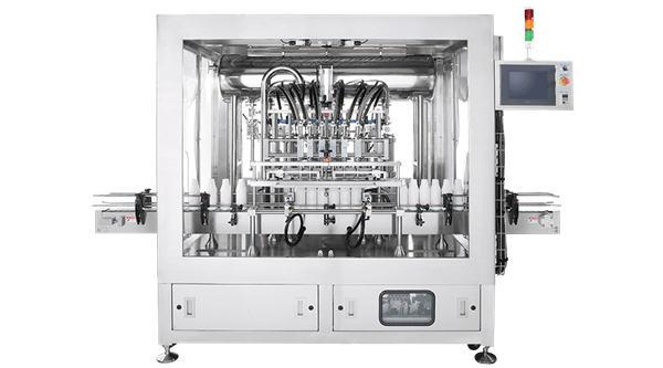 Kolben-Flüssigkeits-Füllmaschine