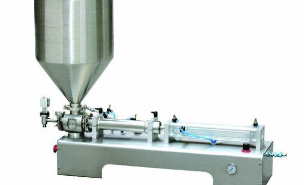 Halbautomatische Calamine Lotion Paste / Liquid Bottle Kolbenfüllmaschine