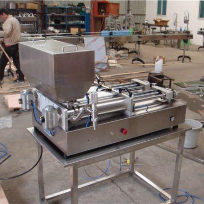Günstigste pneumatische halbautomatische Marmeladenfüllmaschine